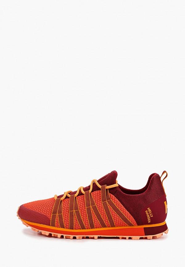 мужские низкие кроссовки helly hansen, бордовые