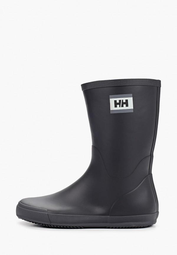 мужские резиновые сапоги helly hansen, черные