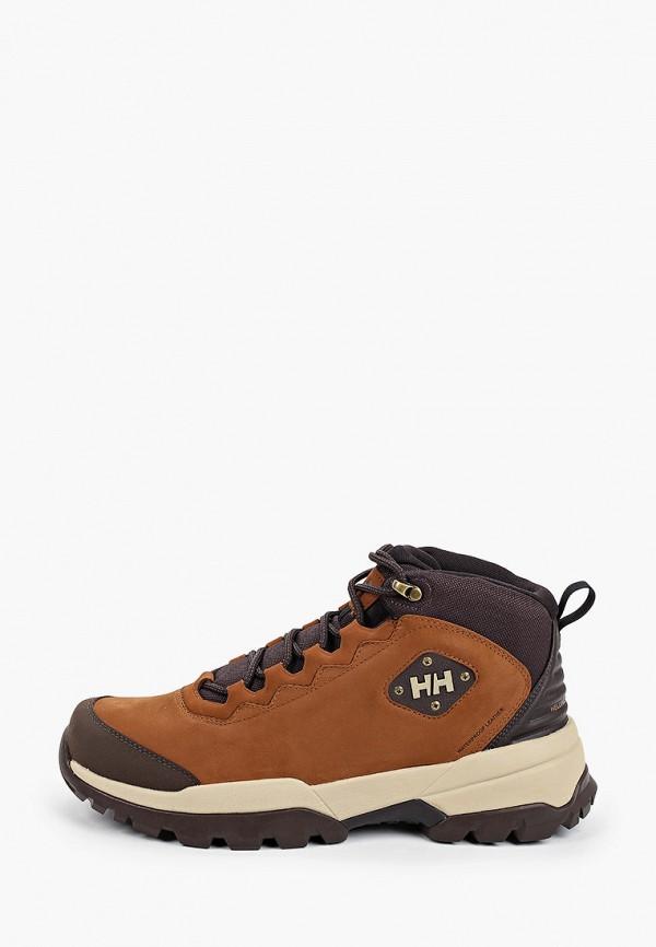 мужские ботинки helly hansen, коричневые
