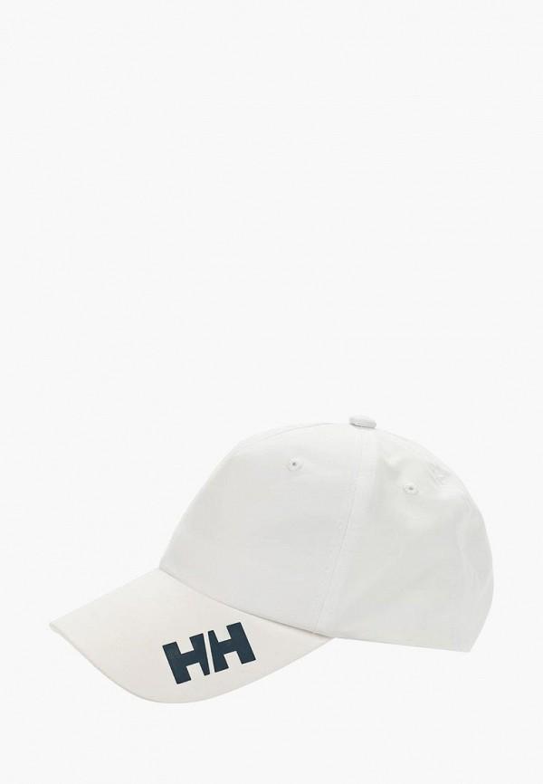 женская бейсболка helly hansen, белая