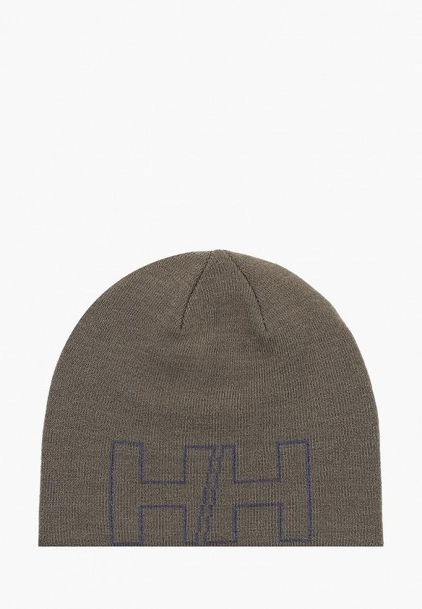 женская шапка helly hansen, хаки