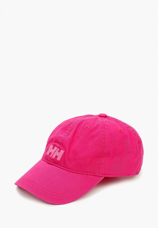 женская бейсболка helly hansen, розовая