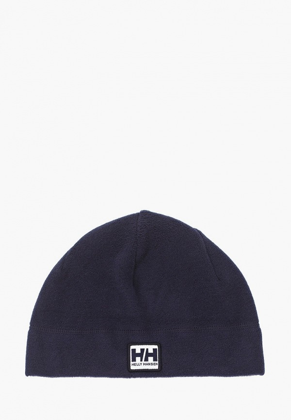 женская шапка helly hansen, синяя