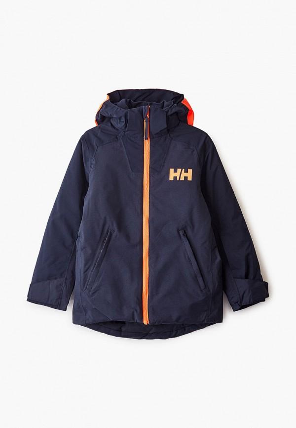 куртка helly hansen для мальчика, синяя
