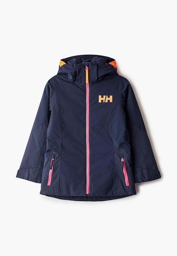 куртка helly hansen для девочки, синяя