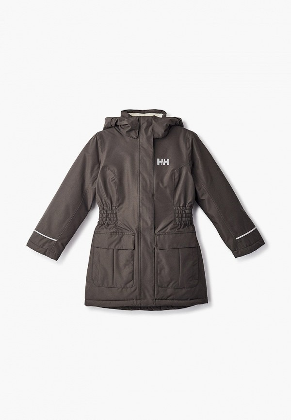 куртка helly hansen для девочки, хаки