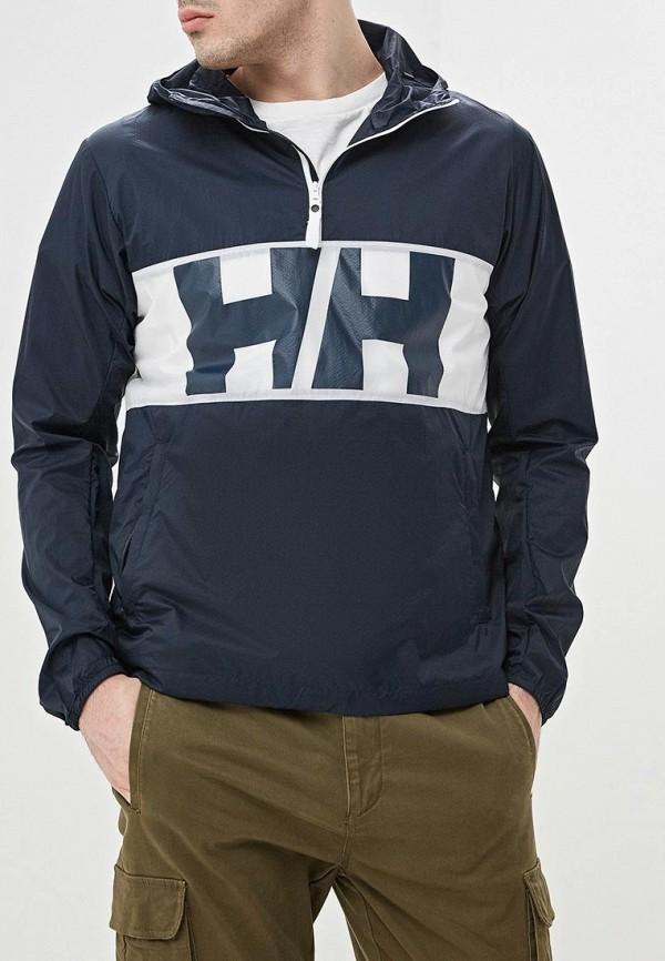 мужская ветровка helly hansen, синяя