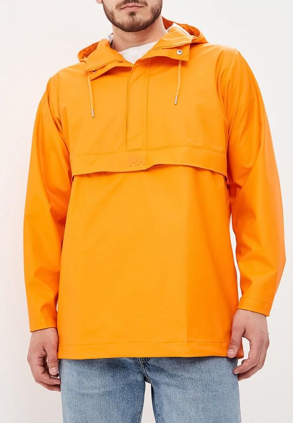 мужская куртка helly hansen, оранжевая