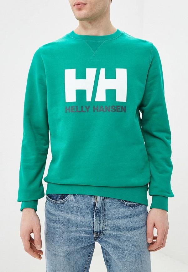 мужской свитшот helly hansen, зеленый