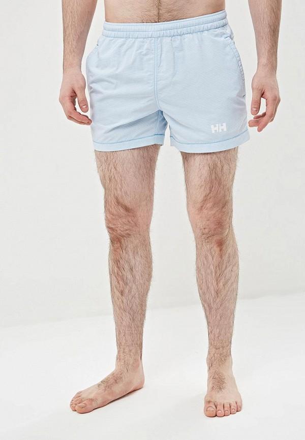 мужские спортивные спортивные шорты helly hansen, голубые