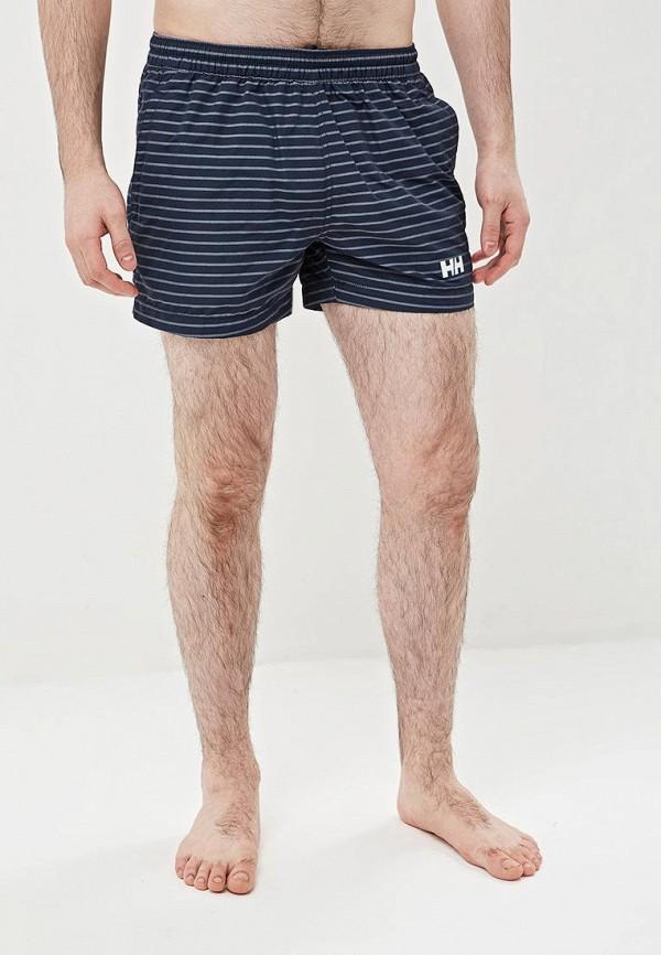мужские спортивные спортивные шорты helly hansen, синие