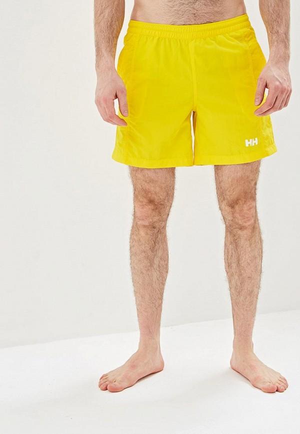 мужские спортивные спортивные шорты helly hansen, желтые