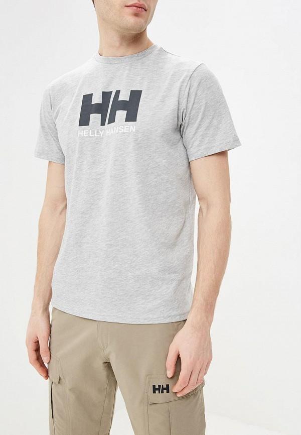 мужская спортивные футболка helly hansen, серая