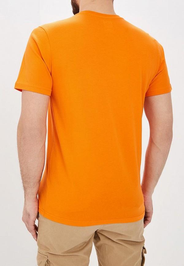 Фото 3 - Футболку спортивная Helly Hansen оранжевого цвета