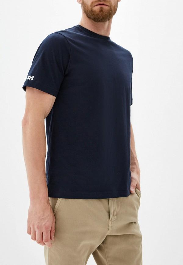 мужская спортивные футболка helly hansen, синяя