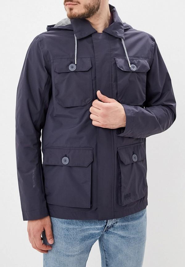 мужская куртка helly hansen, синяя