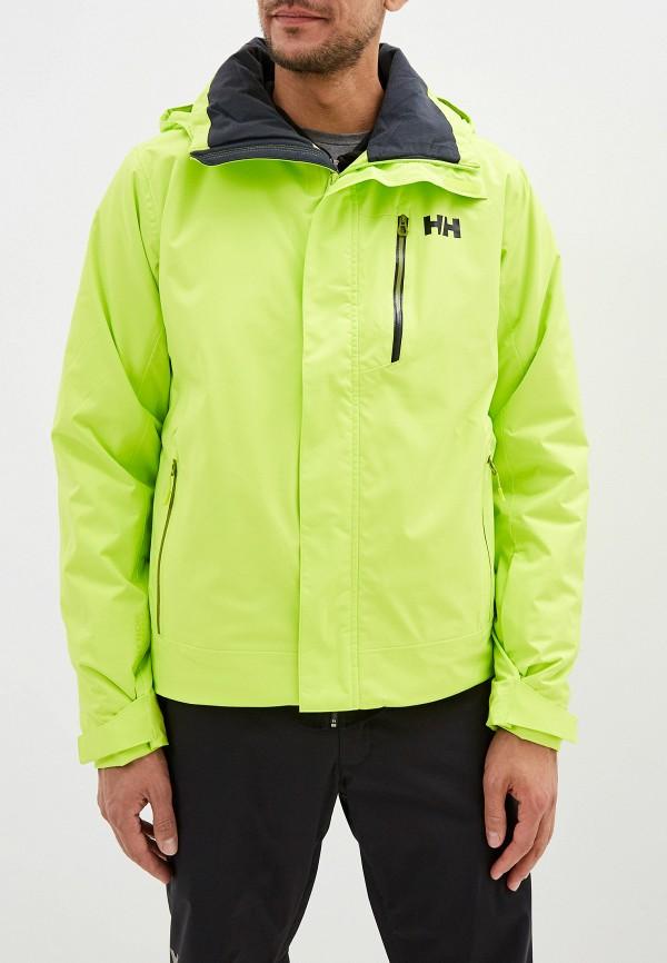 мужская куртка helly hansen, желтая