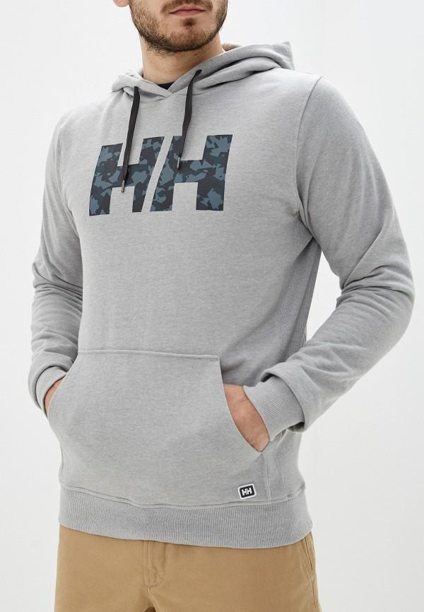 мужские худи helly hansen, серые