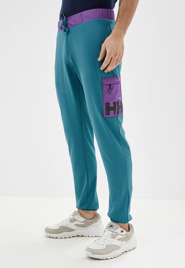мужские спортивные спортивные брюки helly hansen, бирюзовые