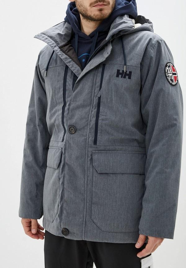 мужская куртка helly hansen, серая