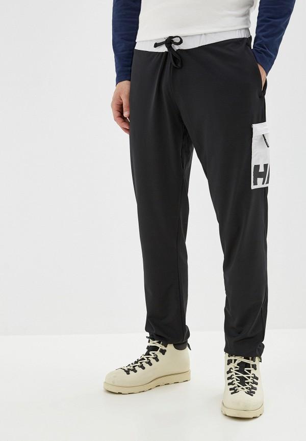 мужские спортивные спортивные брюки helly hansen, черные