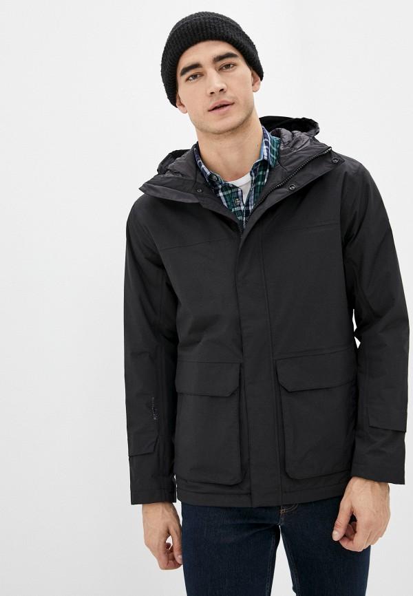 мужская куртка helly hansen, черная