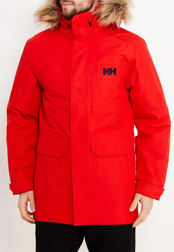 мужская куртка helly hansen, красная