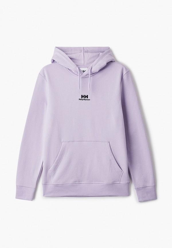 женские худи helly hansen, фиолетовые