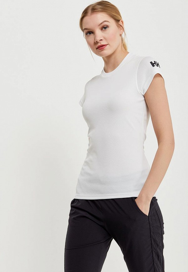 женская спортивные футболка helly hansen, белая