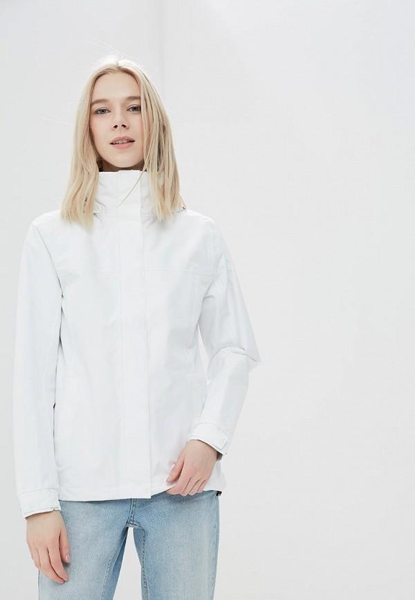 женская куртка helly hansen, белая