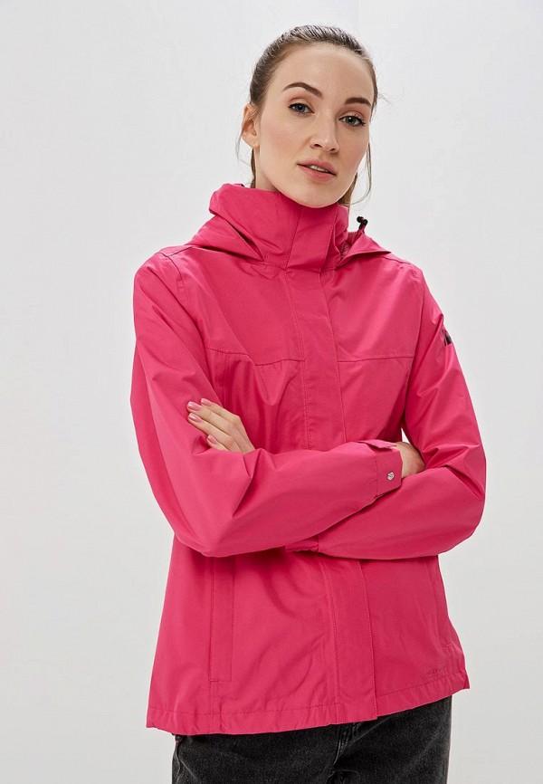 женская ветровка helly hansen, розовая