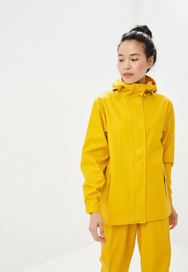 женская куртка helly hansen, желтая