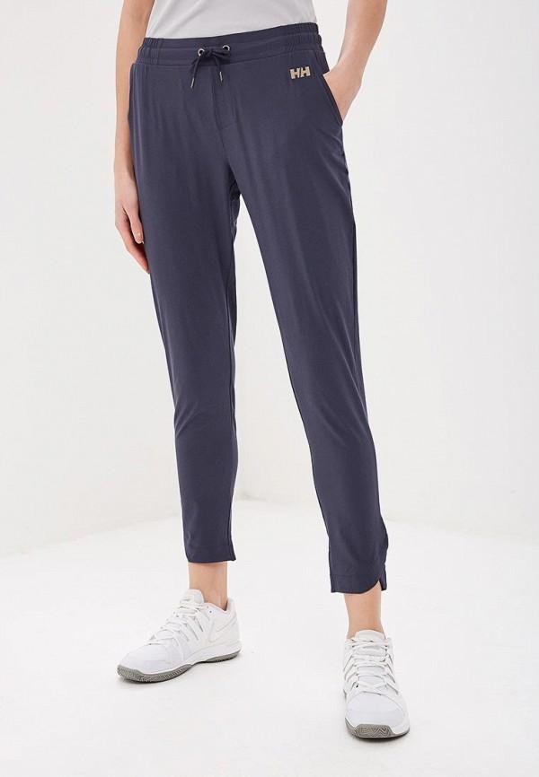 женские спортивные спортивные брюки helly hansen, синие