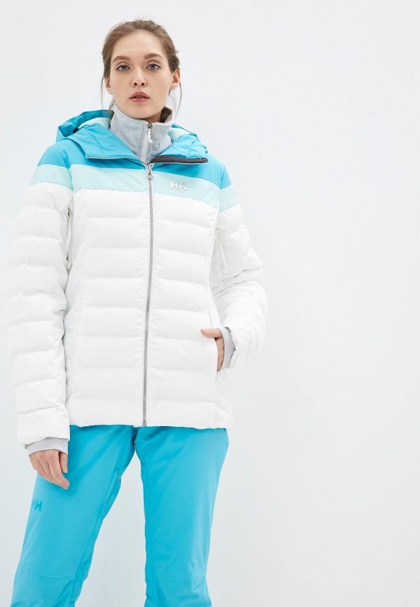 женская куртка helly hansen, голубая