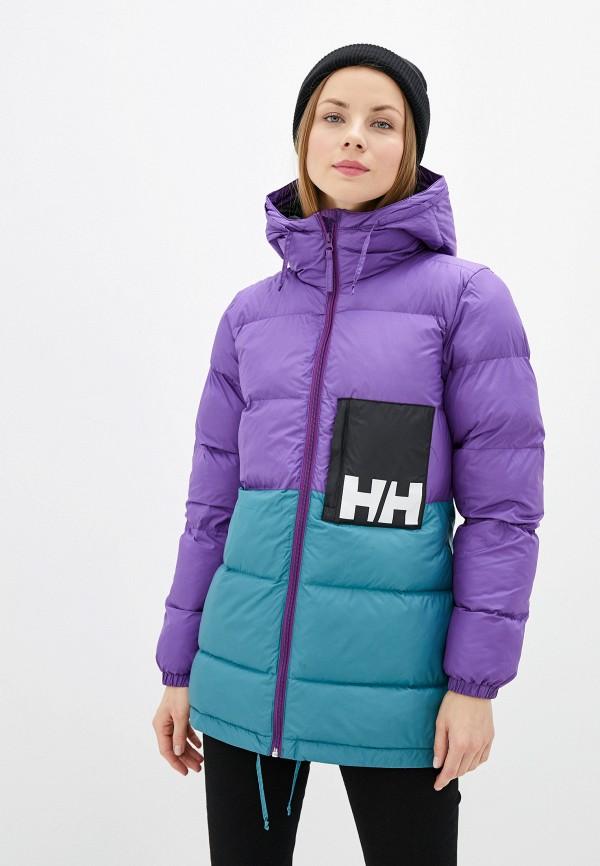 женская куртка helly hansen, фиолетовая
