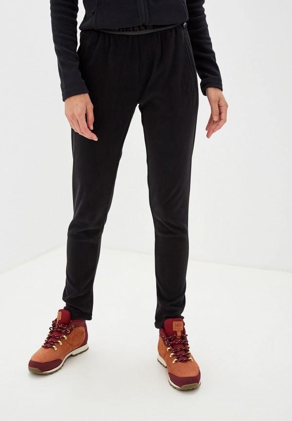 женские спортивные спортивные брюки helly hansen, черные