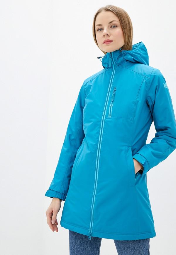 женская куртка helly hansen, синяя