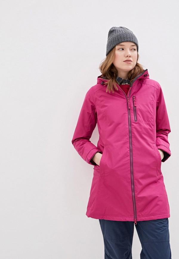 женская куртка helly hansen, розовая