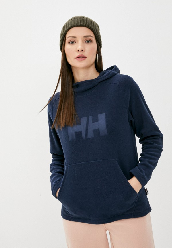 женские худи helly hansen, синие