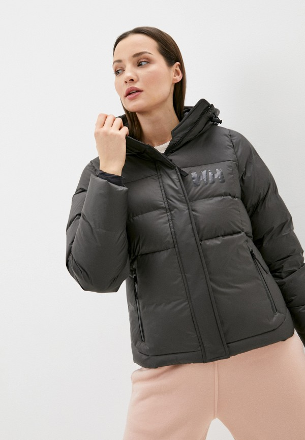 женская куртка helly hansen, серая