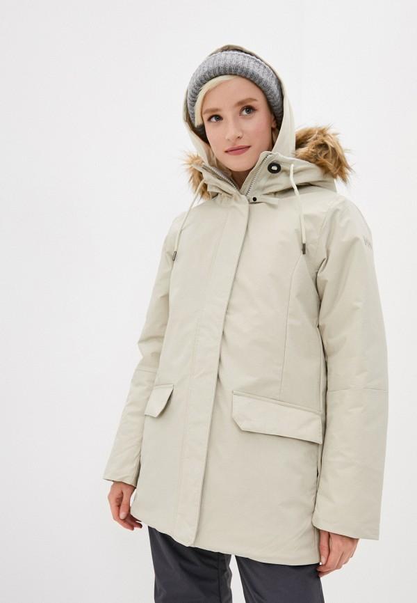 женская куртка helly hansen, бежевая