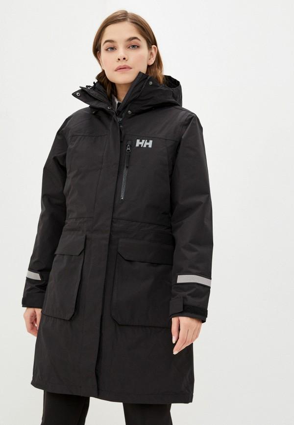женская куртка helly hansen, черная