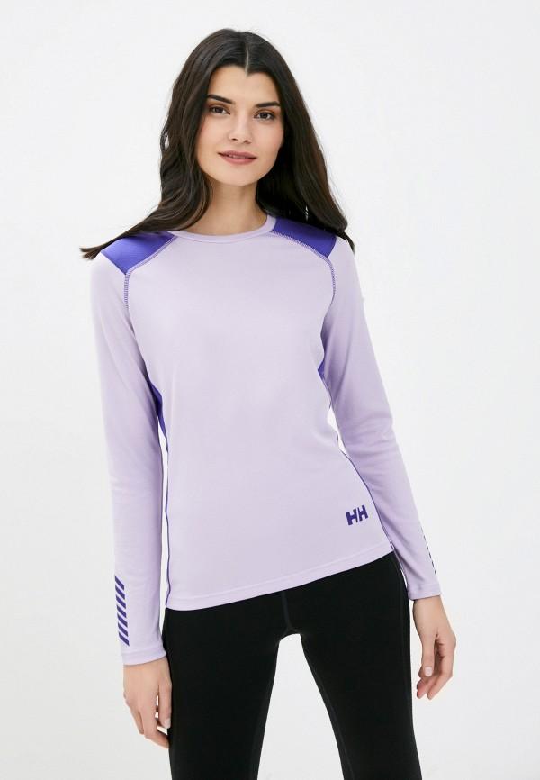 женское термобелье helly hansen, фиолетовое