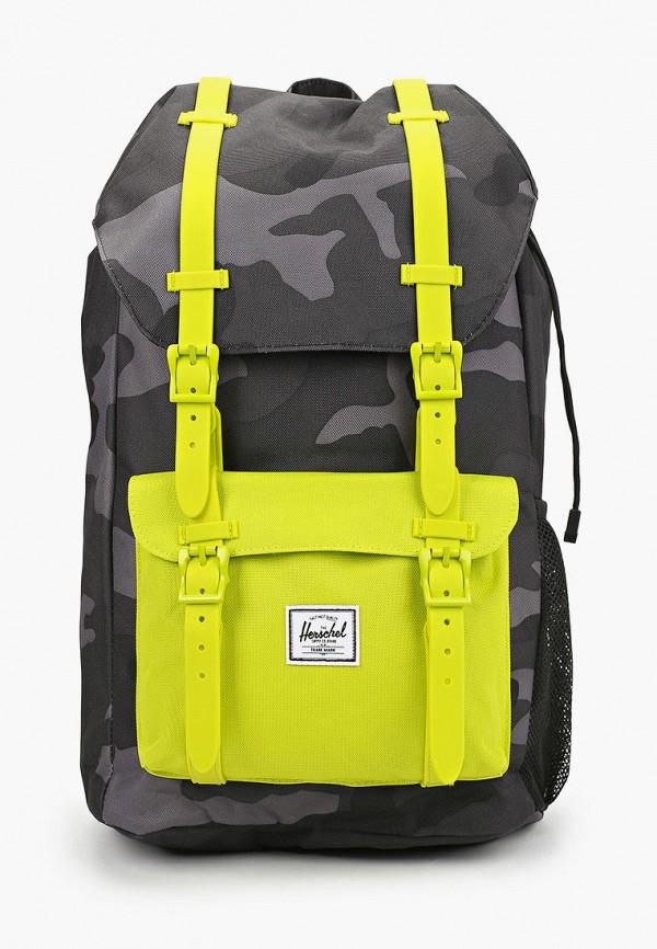 рюкзак herschel supply co для мальчика, серый