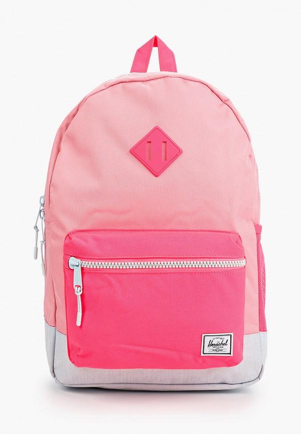 рюкзак herschel supply co для девочки, розовый