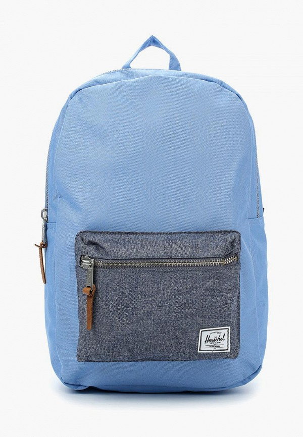 Купить мужской рюкзак Herschel Supply Co голубого цвета