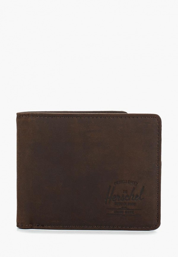 женский кошелёк herschel supply co, коричневый