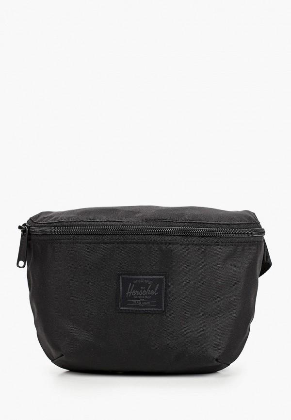 женская сумка herschel supply co, черная