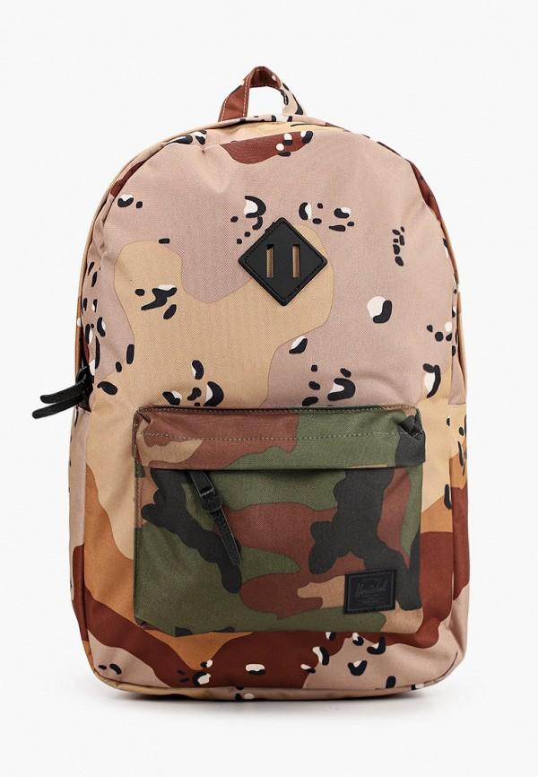 женский рюкзак herschel supply co, бордовый