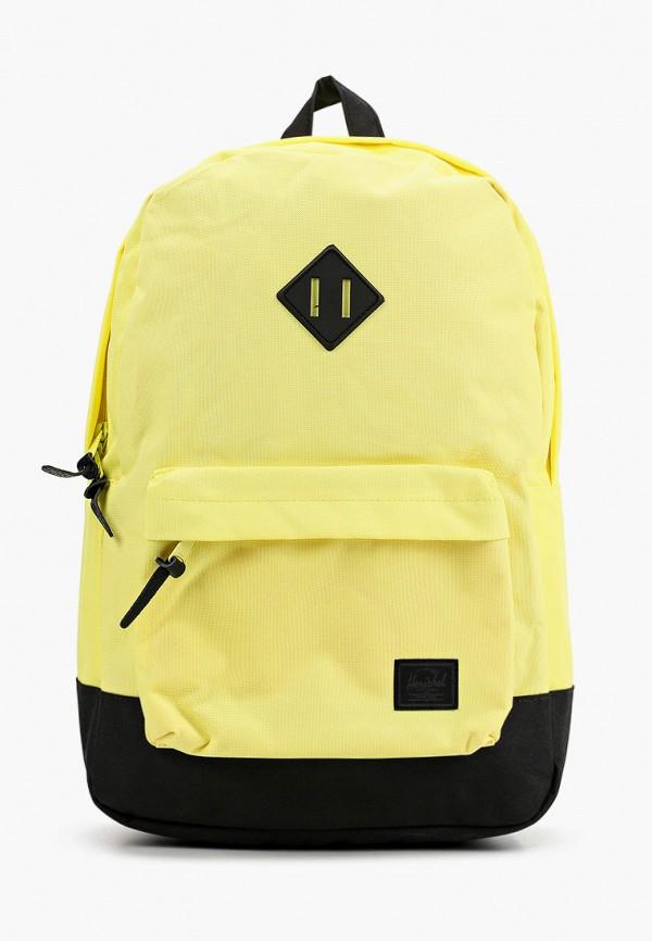 женский рюкзак herschel supply co, желтый